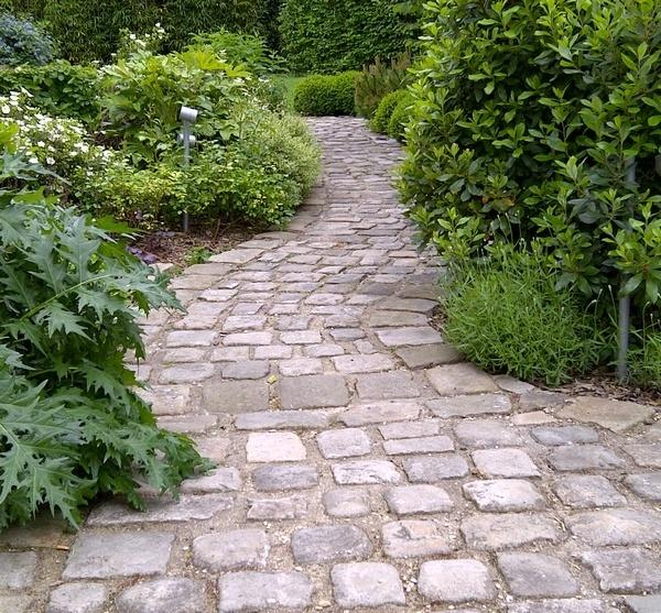 Hmt n goce de pierres et mat riaux du paysage pour l int rieur et l ext rieur - Allee de jardin en bois ...