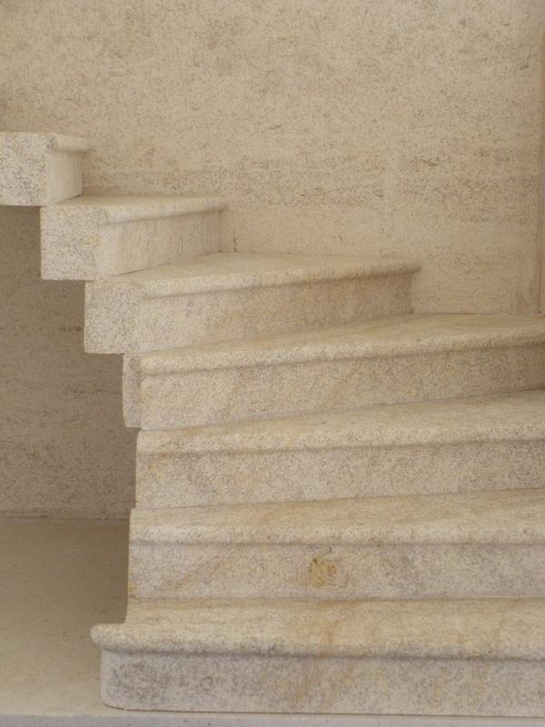 Escalier hmt for Escalier en pierre naturelle