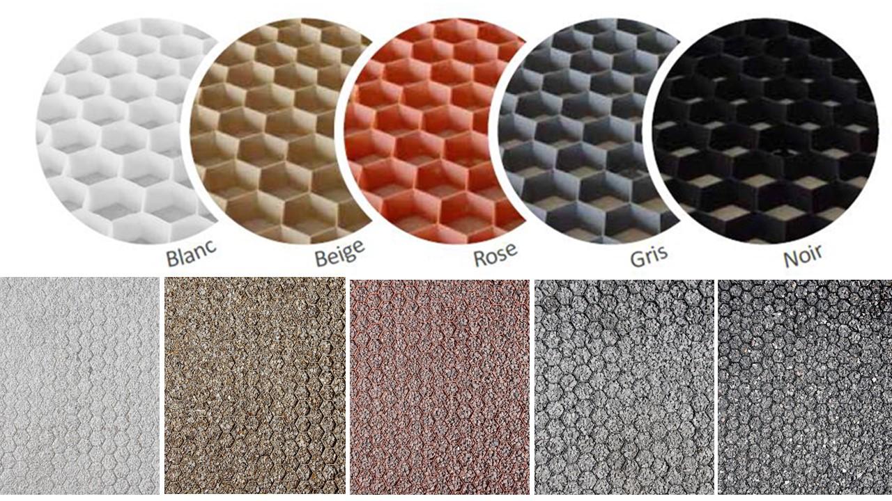 Nidagravel en couleurs