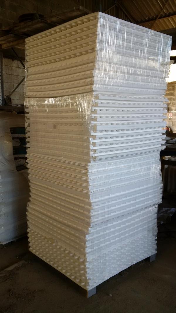 plaque drainante polystyrène